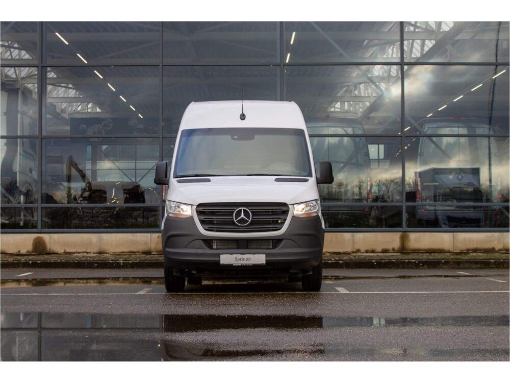 Mercedes-Benz sprinter laadvermogen