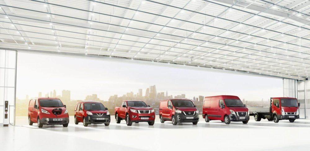 Nissan bedrijfswagens leasen