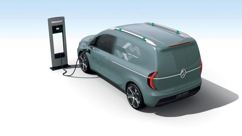 elektrische bestelwagens 2020