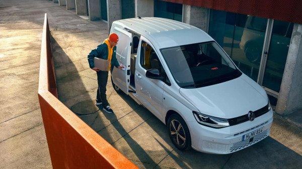 laadruimte nieuwe caddy maxi 2021