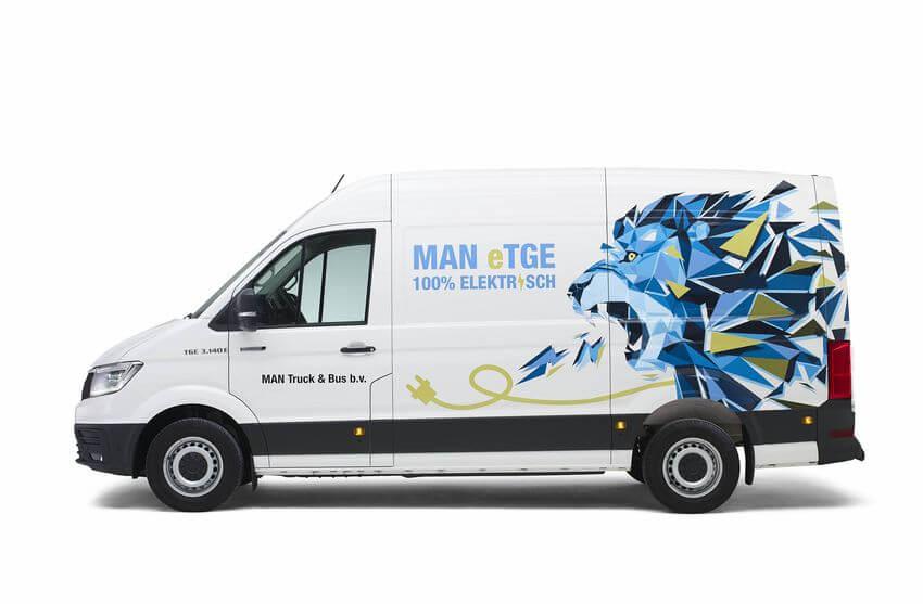 MAN E-TGE leasen