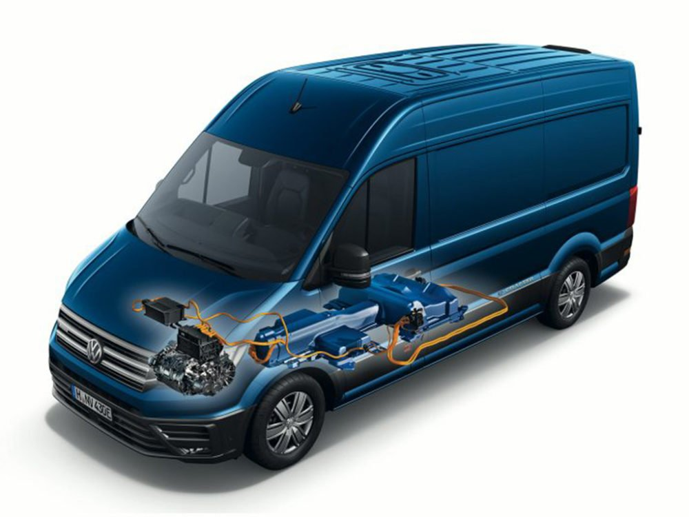 elektrische bestelwagen modellen