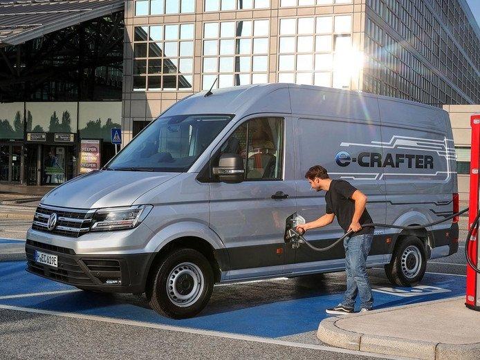 volkswagen e-crafter leasen