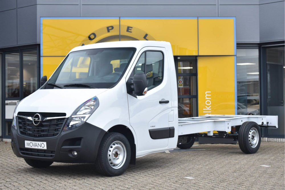 opel movano bakwagen operational lease