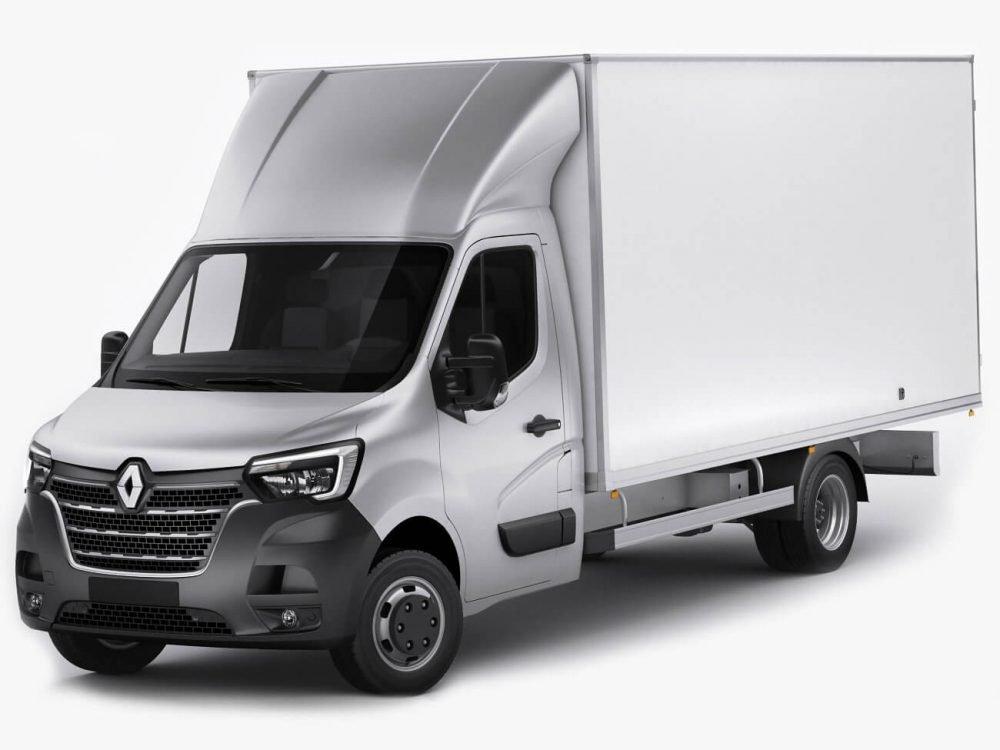 Renault Master bakwagen laadklep leasen