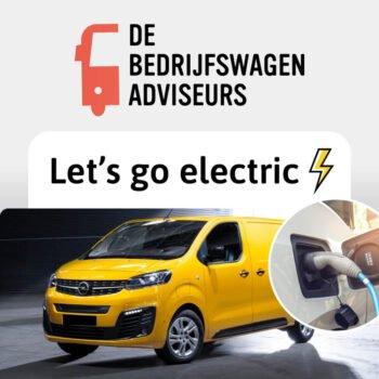 elektrische bedrijfswagens leasing
