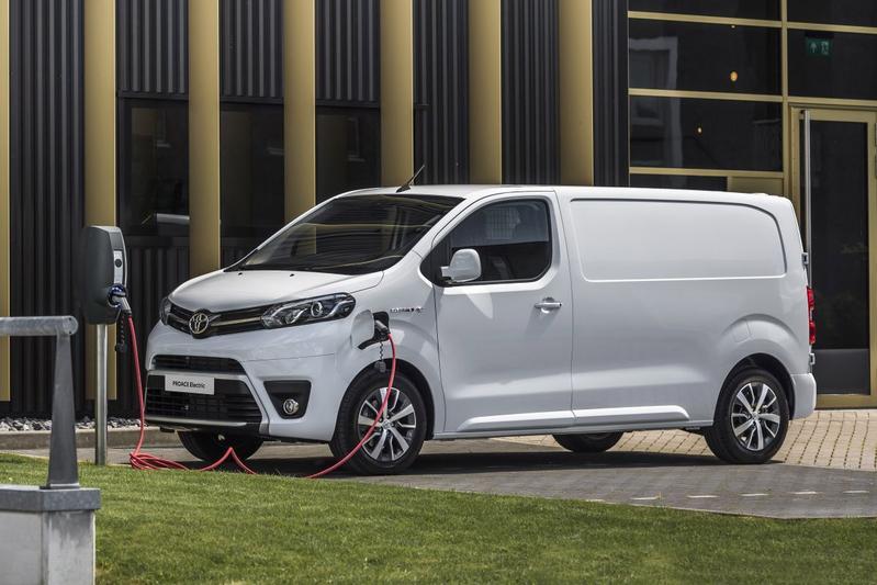Toyota Proace eletric subsidie