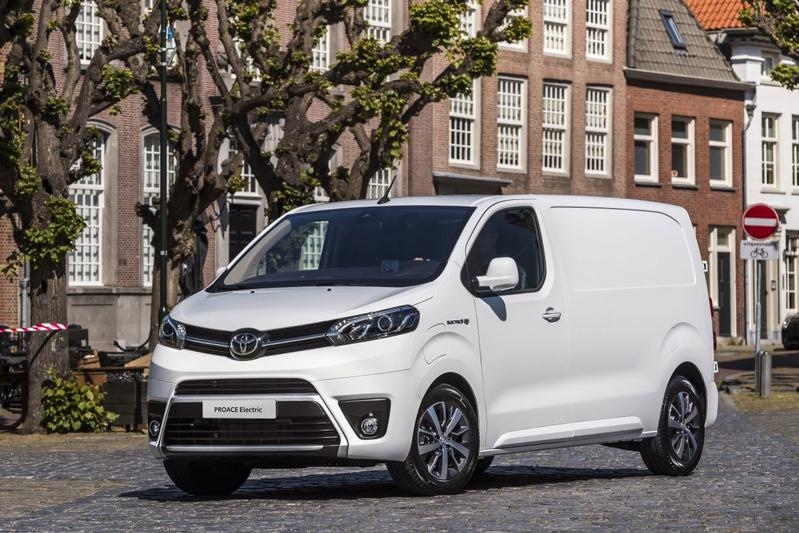 Toyota Proace electric wit subsidie
